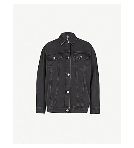 CHEAP MONDAY Upsize denim jacket (Dust+black