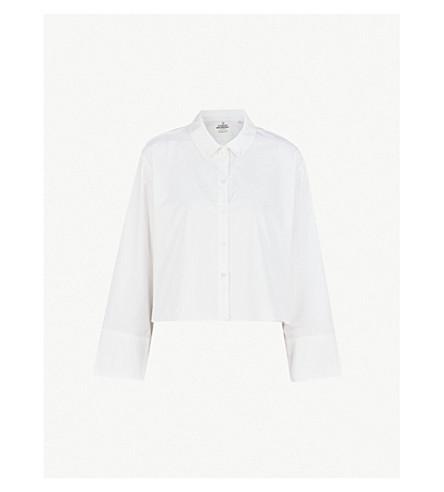 CHEAP MONDAY Hack cotton-poplin shirt (White