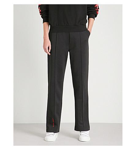 CHEAP MONDAY No CM Hacker organic cotton-blend jogging bottoms (Black