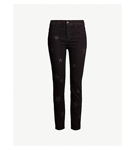 CURRENT/ELLIOTT The Stiletto skinny mid-rise jeans (Vineland w star