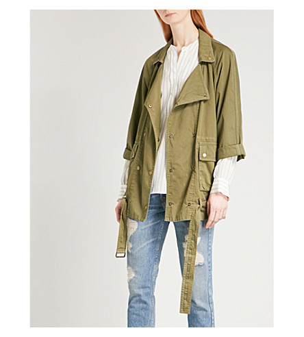 CURRENT/ELLIOTT Infantry cotton jacket (Army
