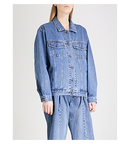 KSENIA SCHNAIDER Sample not For Sale denim jacket (Blue