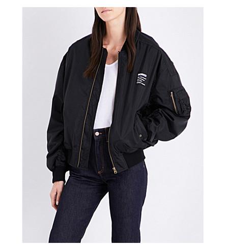 FIORUCCI Lou shell bomber jacket (Black