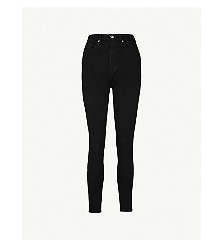 GOOD AMERICAN Good Waist skinny ultra high-rise jeans (Black004