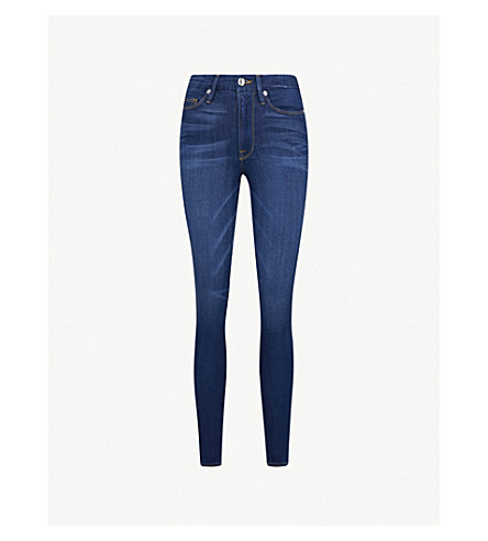 GOOD AMERICAN Good Waist skinny ultra high-rise jeans (Blue013