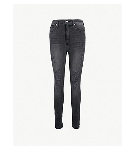 GOOD AMERICAN Good Waist skinny ultra high-rise jeans (Black009
