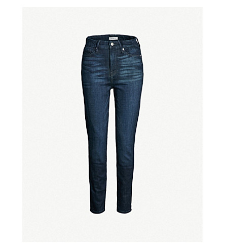 GOOD AMERICAN Good Waist Crop skinny ultra high-rise jeans (Blue025