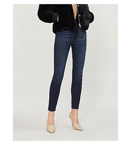 GOOD AMERICAN Good Waist Crop skinny ultra high-rise jeans (Blue025