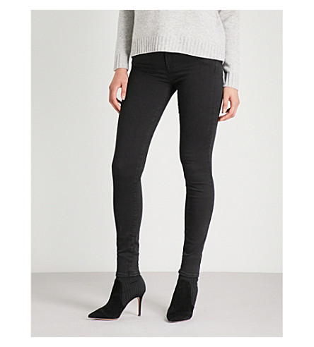 7 FOR ALL MANKIND The Skinny Crop mid-rise super-skinny jeans (Illusion