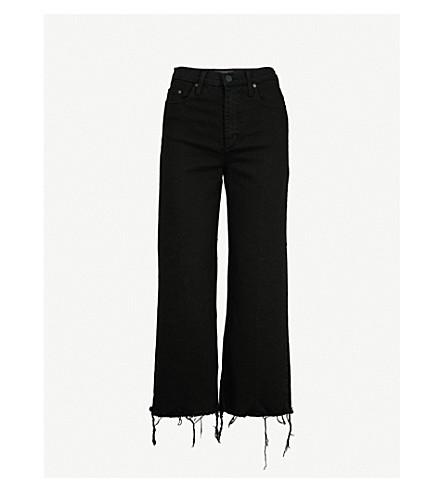 NOBODY DENIM Milla wide-leg high-rise jeans (Stellar
