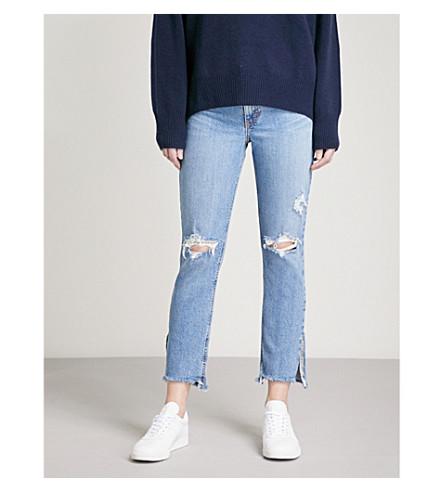 NOBODY DENIM True Jean Ankle slim high-rise jeans (Alive