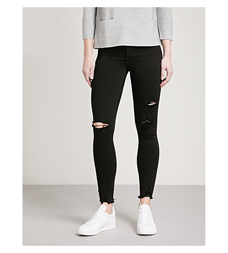 NOBODY DENIM Cult Skinny Ankle skinny high-rise jeans (Posession