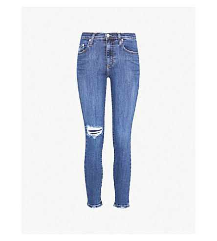 NOBODY DENIM Cult Skinny Ankle skinny high-rise jeans (Obsessed