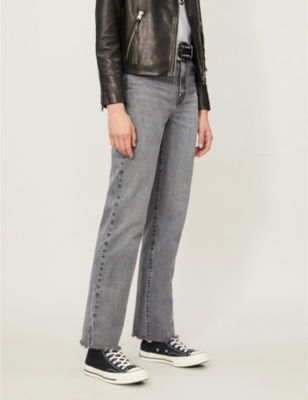 Arlo straight high-rise jeans