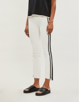 Insider cropped straight high-rise jeans