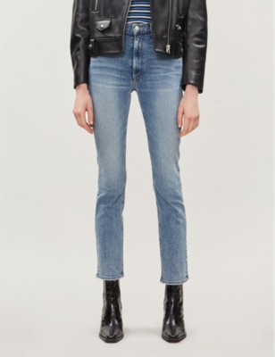 The Dazzler cropped skinny high-rise jeans