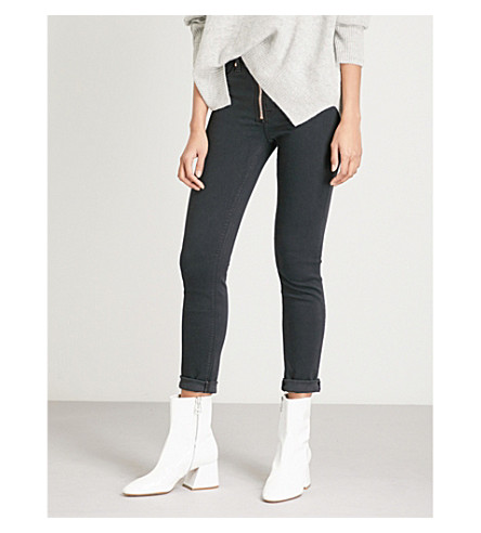 HUDSON JEANS Barbara skinny high-rise jeans (Maniac