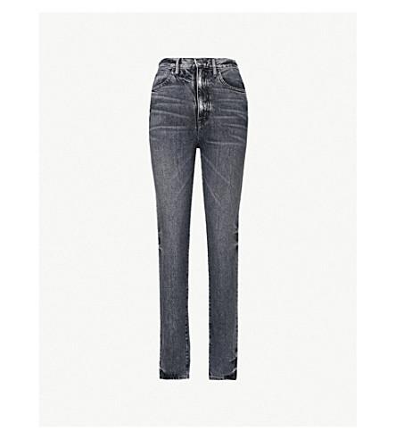 SLVRLAKE Beatnik skinny high-rise denim jeans (Black coal