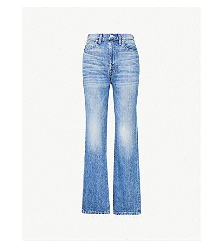 SLVRLAKE London high-rise straight-leg jeans (Sweet thing
