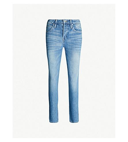 SLVRLAKE Lou Lou skinny mid-rise cropped jeans (Legacy blue