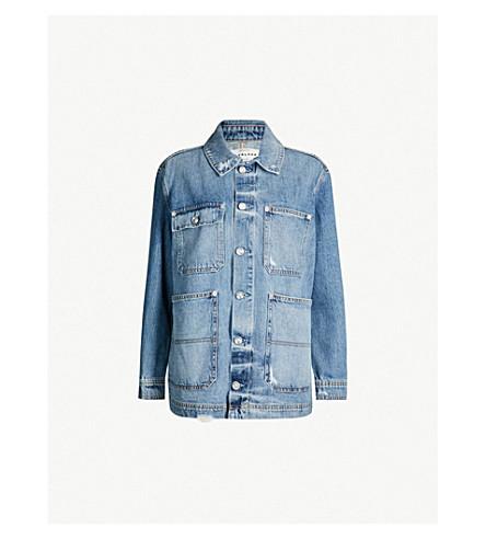 SLVRLAKE Worker denim jacket (Strange love