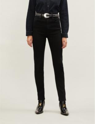 Beatnik skinny high-rise jeans