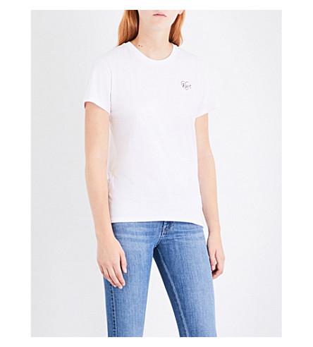 DIESEL T-Sully-Az cotton-jersey T-shirt (100+white