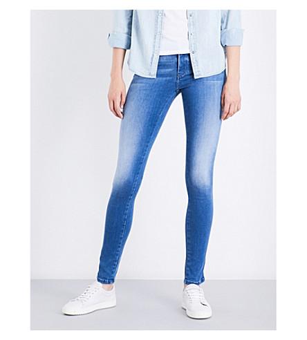 DIESEL Skinzee skinny mid-rise jeans (01+blue
