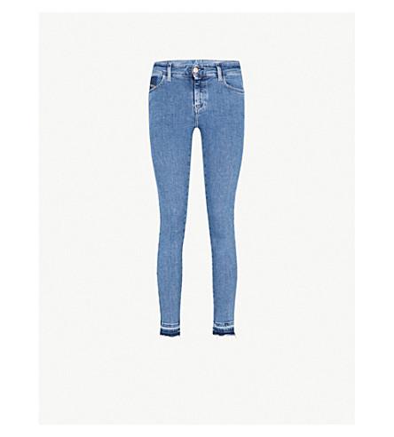 DIESEL Slandy super-skinny high-rise jeans (01+blue+denim