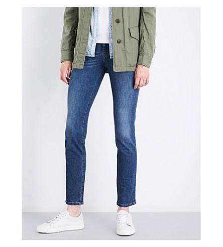 DIESEL Sandy straight mid-rise jeans (01+blue