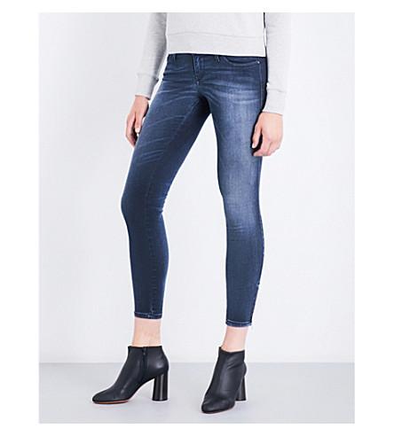 DIESEL Skinzee super-skinny low-rise jeans (01+blue