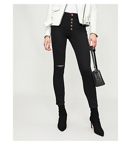 DIESEL Babhila-B 084ZN slim-fit skinny stretch-denim jeans (Black