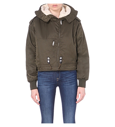 DIESEL Moto quilted shell jacket (0lalv-900