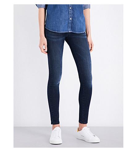 DIESEL Slandy super skinny mid-rise jeans (Black