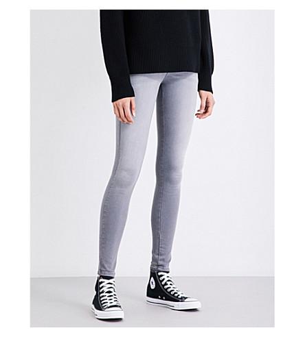 DIESEL Slandy super-skinny mid-rise jeans (07+grey