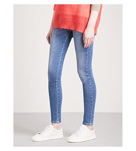 DIESEL Slandy super-skinny high-rise jeans (01+blue