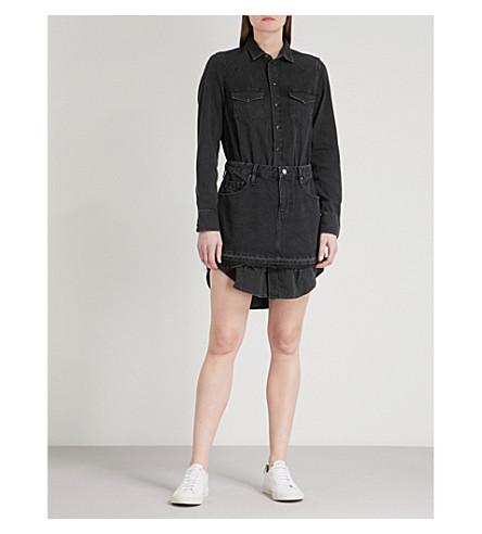 DIESEL De-Desy denim dress (02+washed+black+denim