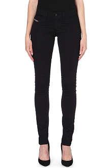 DIESEL Livier skinny mid-rise jeans