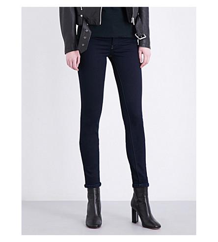 DIESEL Livier skinny mid-rise jeans (Navy+blue
