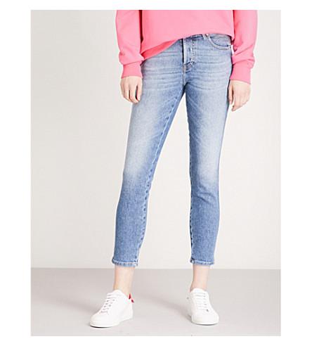 DIESEL Babhila slim-fit mid-rise jeans (01+blue+denim