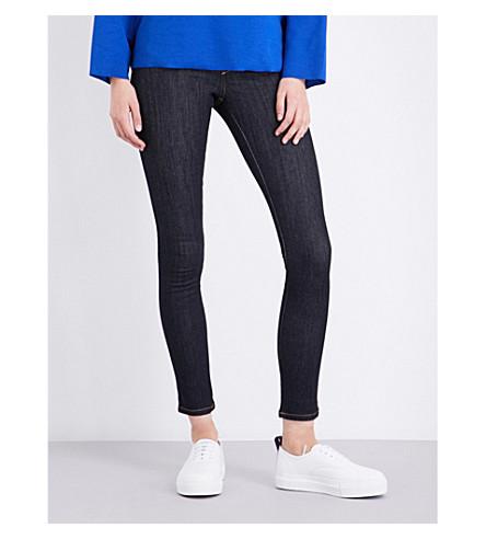 DIESEL Skinzee skinny mid-rise jeans (Dark+indigo