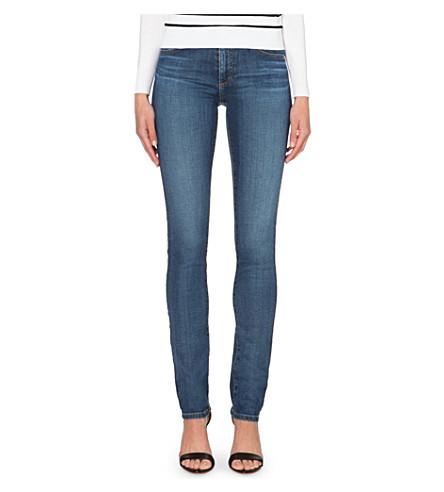 AG The harper slim-straight mid-rise jeans (11+years+pace