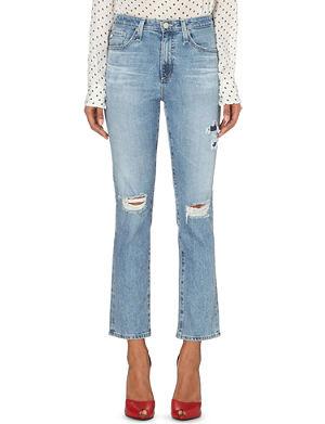 ALEXA CHUNG FOR AG Sabine straight mid-rise jeans