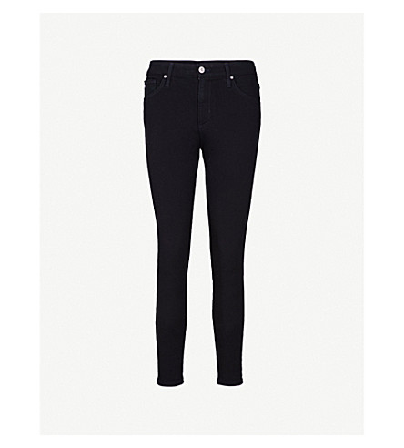 AG The Farrah skinny high-rise jeans (Hideout