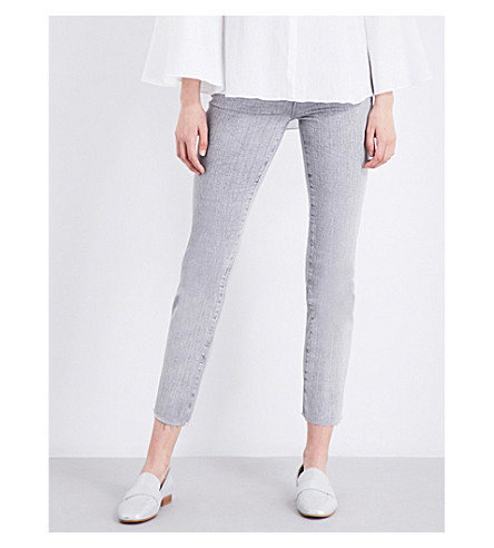 AG The Isabelle straight high-rise jeans (Interstellar+castleroc
