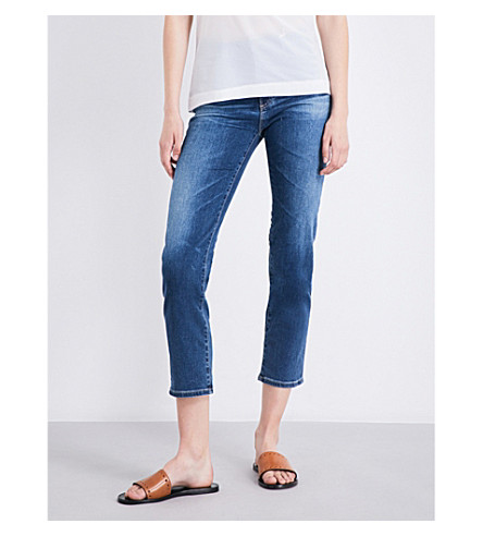 AG The Isabelle straight high-rise jeans (8+years+infamy