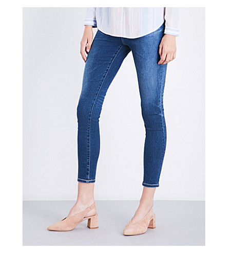 AG The Mila skinny super high-rise jeans (8+years+infamy