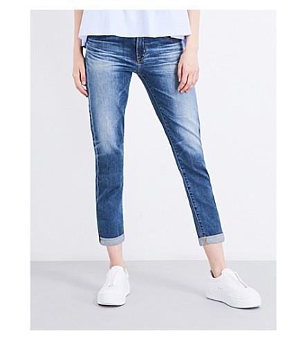 AG The Ex-Boyfriend cropped mid-rise jeans (Ex+boyfriend+slim