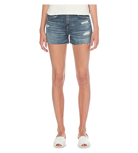 AG The Sadie cut-off denim shorts (15+years+anchorage