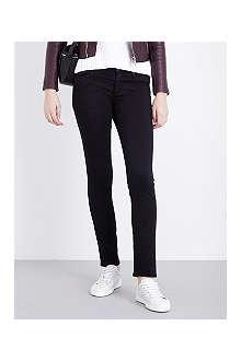 AG The Stilt skinny mid-rise jeans